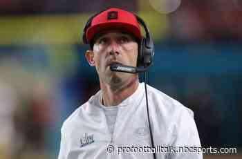 Kyle Shanahan unbothered by 49ers coaches being unable to return to facility