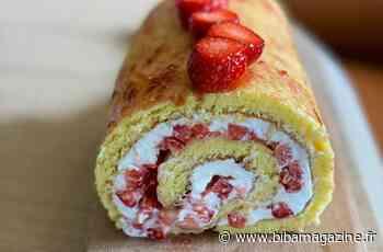 #gourmandcroquant : biscuit roulé aux fraises, chantilly légère, une folie douce signée Cyril Lignac ! - Biba