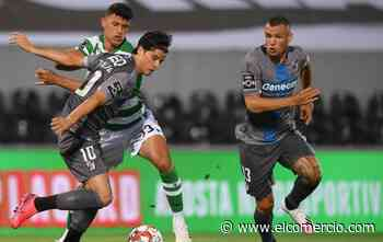 El ecuatoriano Gonzalo Plata ingresó en el empate del Sporting con el Vitoria de Guimaraes en la Liga de Portugal