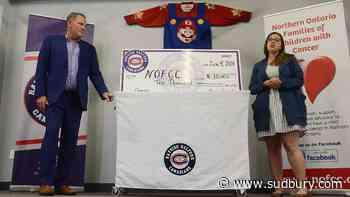NOFCC scores $10K donation raised at Canadians' Super Mario hockey game