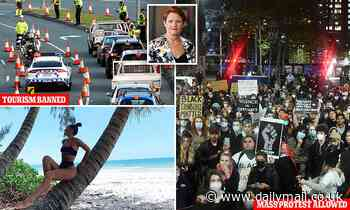 Pauline Hanson slams Queensland Premier over George Floyd protests