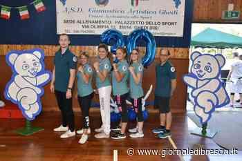 Aics: Artistica Ghedi e l'amore per la ginnastica - Giornale di Brescia
