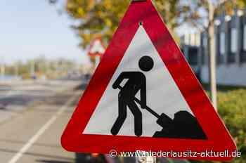 Nächtliche Straßensperrungen in der Cottbusser Straße in Guben - NIEDERLAUSITZ aktuell