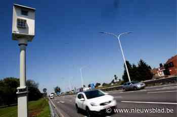Man aan 168 kilometer per uur geflitst in zone 90 - Het Nieuwsblad