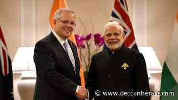 Amidst tension with China, India, Australia ink military logistics sharing pact - Deccan Herald