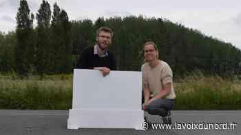 Une petite entreprise de Wavrin se lance dans les «séparateurs Covid» pour bureaux - La Voix du Nord