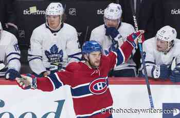 Canadiens' Jonathan Drouin Returns - Has Chance to Be a Difference Maker - The Hockey Writers