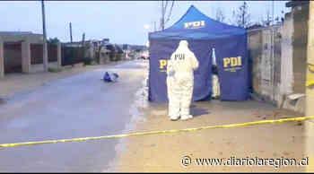Joven colombiano aparece muerto en la vía pública en sector El Sauce - http://www.diariolaregion.cl