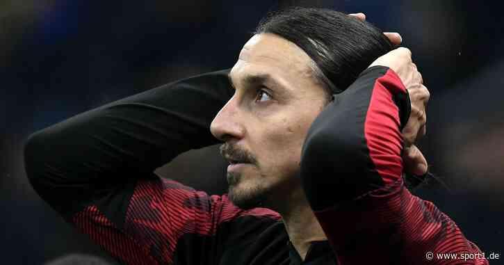 Zlatan Ibrahimovic vom AC Mailand: Diagnose schließt Achillessehnenriss aus - SPORT1