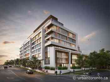 New Design for Resubmitted Mid-Rise at Bathurst and Glencairn - Urban Toronto