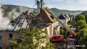 Hoher Schaden nach Hausbrand in Idar-Oberstein | Trier | SWR Aktuell Rheinland-Pfalz | SWR Aktuell - SWR