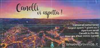 """""""Canelli vi aspetta"""" e ve lo dice da un maxi manifesto - La Nuova Provincia - Asti"""