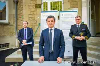 Rethel : Gérald Darmanin,en visite aux impôts de bon matin - L'Ardennais
