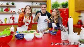 Andrea Legarreta y Tania Rincón muestran la buena química que tienen cocinando una deliciosa pasta - Las Estrellas TV