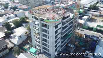 Edificio en Concepción será pintado con partículas de cobre para combatir el coronavirus - Radio Agricultura