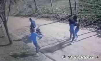 Video muestra un arrebato a plena luz del día en Concepción del Uruguay - entreriosya