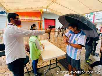Instalan 6 filtros sanitarios en Tapachula contra Covid-19 - Excélsior