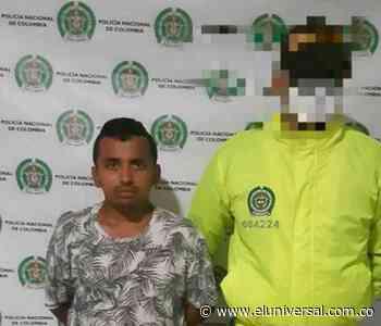 Hombre buscado por cuatro delitos cayó en San Benito Abad - El Universal - Colombia