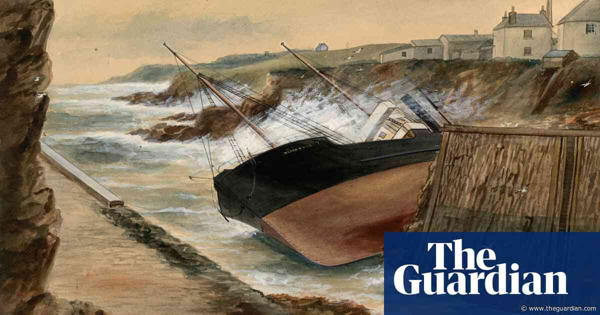 Did the captain of this wrecked ship have a wheat intolerance? The great British art quiz