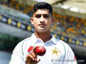 Youthful pacer Nasim Shah confident to bowl to a high level against India - UrduPoint News