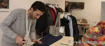 Suleiman Hesso kommt aus Syrien und hat in Tann eine Schneiderei eröffnet - Fuldainfo
