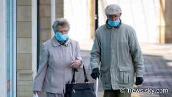 Coronavirus cases in UK have more than halved in last week - ONS figures - Sky News