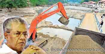 Sand removal restarts at Pampa after CM dismisses forest department objection - Onmanorama