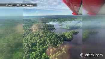 Forest Service battles small wildfire north of Ely - KBJR 6