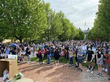 Hundreds Of Demonstrators Rally In Lake Forest To Denounce Racism - Lake Forest, IL Patch