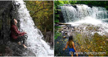 You Can Picnic Beside This Ontario Waterfall Hidden In A Lush Forest - Narcity Canada
