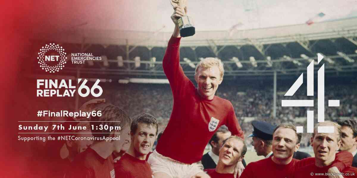 Channel 4 Showing 1966 World Cup Final On Sunday