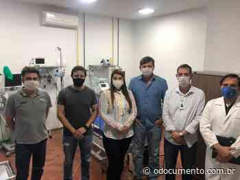 Ulysses Moraes realiza fiscalização no hospital de Campo Novo do Parecis - O Documento