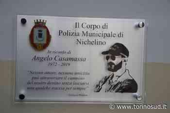 NICHELINO - Una targa per ricordare Angelo Casamassa, vigile prematuramente scomparso - TorinoSud