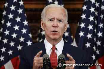 Biden reacts to Trump's Maine trip, says Trump 'bungled' coronavirus response - Press Herald