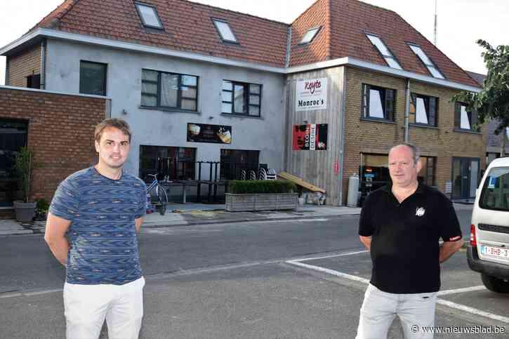 Schepen Jan Lievens zorgt voor extra terrasruimte voor de horeca