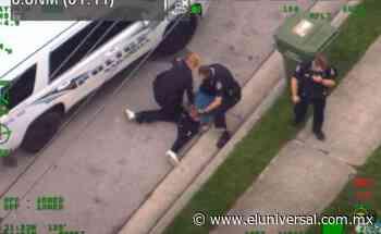 Captan en Florida arresto a afroamericano similar al de George Floyd   El Universal - El Universal