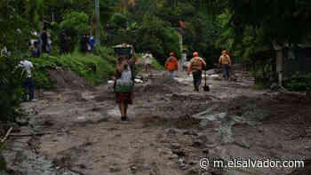 Desbordamiento del río Pezote deja incomunicado a varias comunidades de Apulo - elsalvador.com