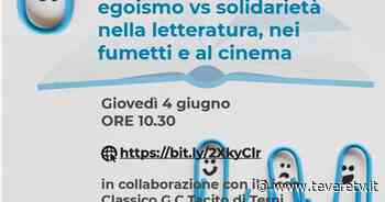 Secondo Caffè Letterario al Campus Da Vinci: #ioleggodacasa – egoismo vs solidarietà nella letteratura, nei fumetti e al cinema - Tevere TV