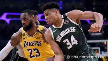 NBA Championship odds: Lakers, Bucks favorites as NBA plans restart