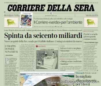 """Corriere della Sera su coloro che cambiano squadra: """"Il calciatore sospeso"""" - TUTTO mercato WEB"""