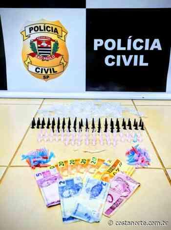 Polícia Civil apreende drogas e dinheiro em Pederneiras - Jornal Costa Norte