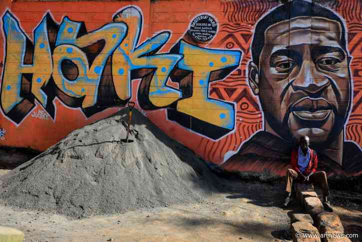 Murals Dedicated to George Floyd Appear Around the World, Ken Griffin Paid Over $100 Million for a Basquiat, and More: Morning Links from June 5,2020