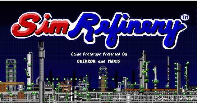 SimCity developer's forgotten oil refinery simulator is now playable online