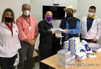 Hospitales de Mistrató, Belén de Umbría y La Virginia, recibieron elementos de bioseguridad - Eje21