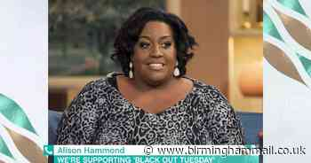 Alison Hammond reemerges on social media to address powerful speech