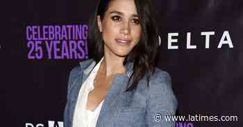Meghan Markle talks to her LA alma mater about George Floyd - Los Angeles Times