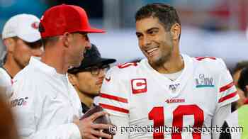 Kyle Shanahan believes Jimmy Garoppolo has ability to be an all-time great QB