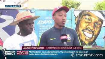 Beaumont-sur-Oise: les manifestations contre les violences policières redonnent de l'espoir - BFMTV.COM