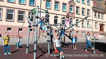 Hornberg: Grundschüler halten sich an Corona-Regeln - Hornberg - Schwarzwälder Bote