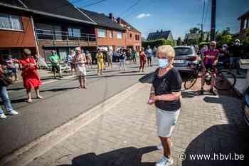 Honderden Alkenaren bezorgen Jeannine hartverwarmende thuisk... (Alken) - Het Belang van Limburg